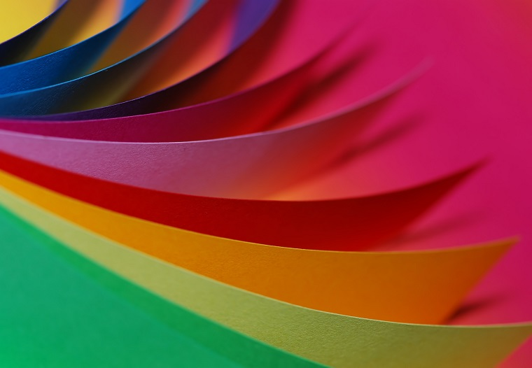 Paper colorful.