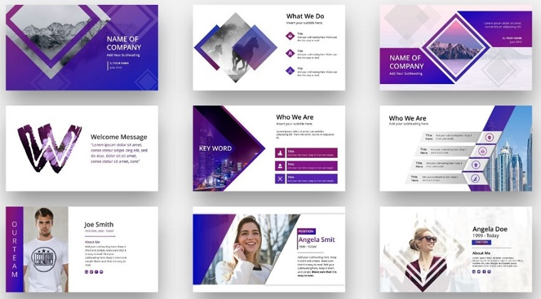 Pitch Deck PowerPoint Template.