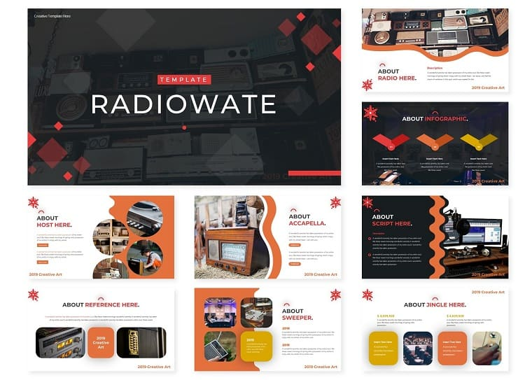 Radiowate | PowerPoint Template