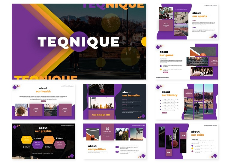 Teqnique | PowerPoint Template