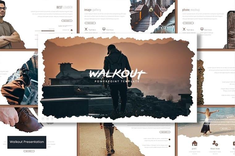 Walkout PowerPoint Template