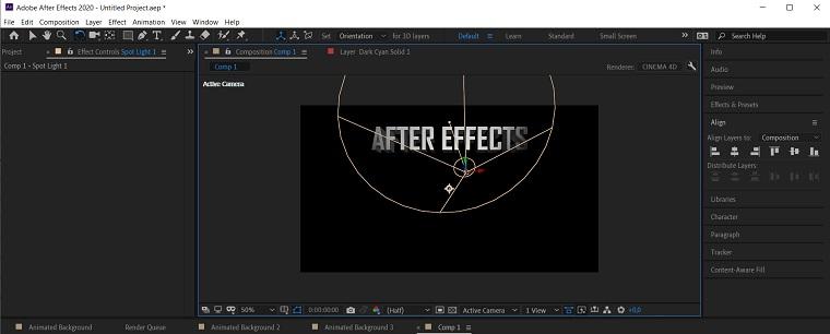 3D effect6.
