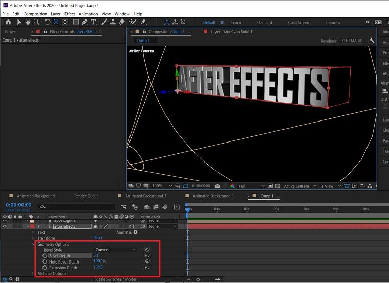 3D effect8.