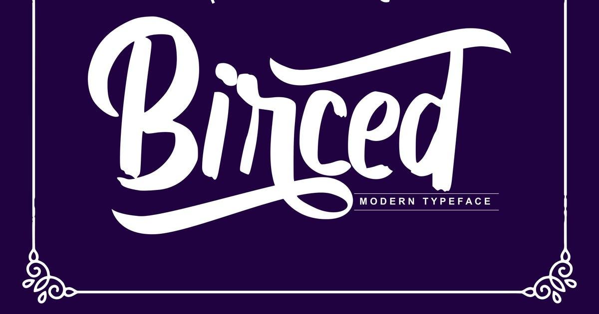 Birced | Modern Typeface Font