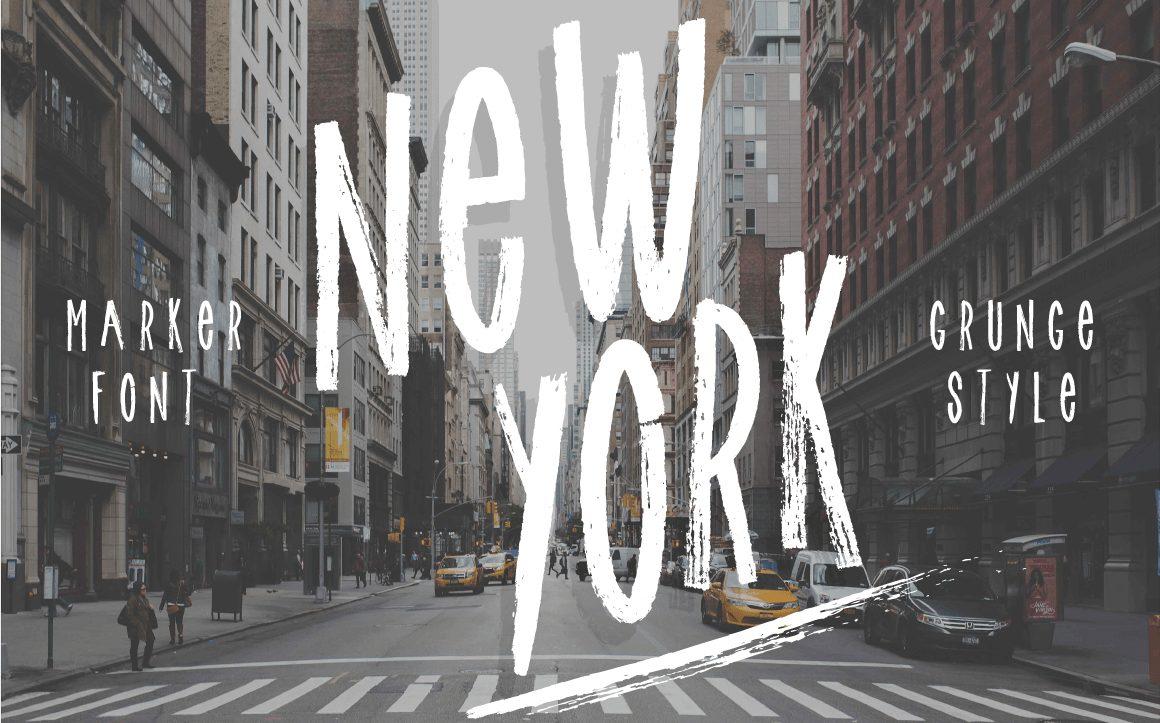 New York Logo font!