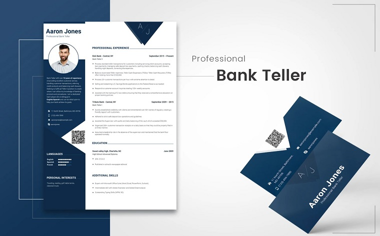 Aaron Jones - Accounting Resume Template