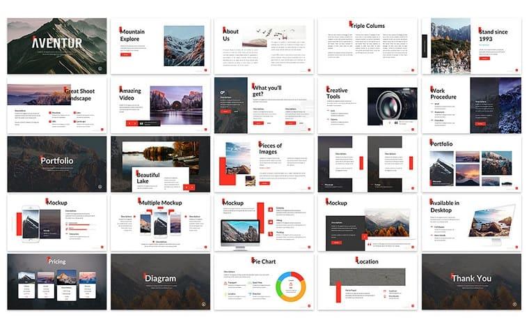 Aventur - Presentation PowerPoint Template