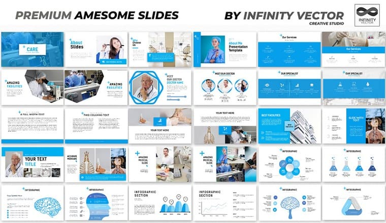 Care Medical PowerPoint Template