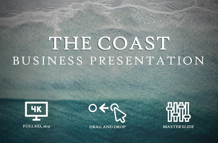COASTS - Inspired by our World PowerPoint Template