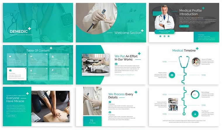 Demedic - Medical PowerPoint Template