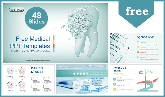 Dental Clinic PowerPoint Templates