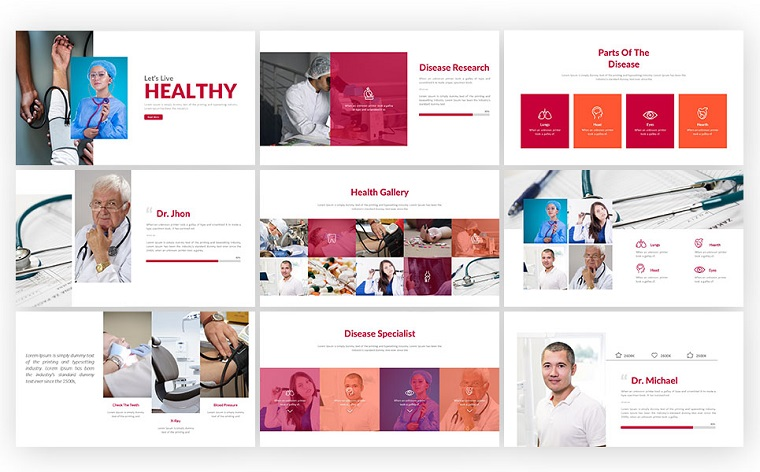 Healthcare Presentation PowerPoint Template