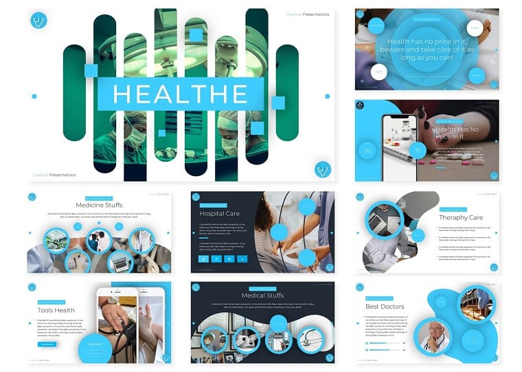 Healthe | PowerPoint Template