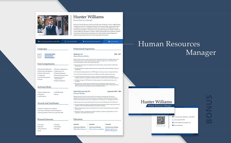 Hunter Williams - Office Manager Resume Template