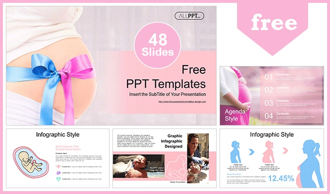Maternity Hospital PowerPoint Templates