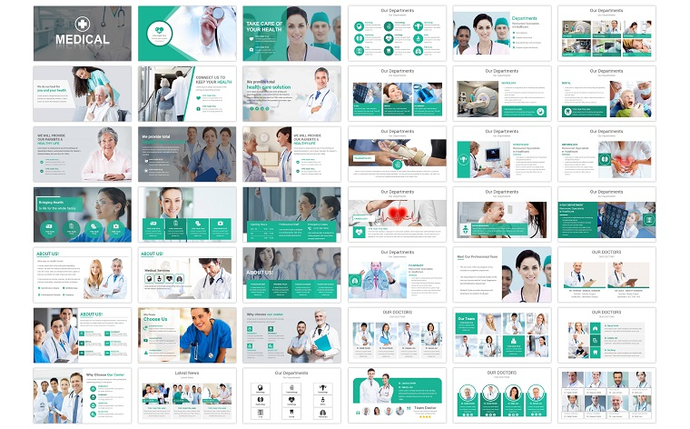 Medical and Healthcare PowerPoint Template