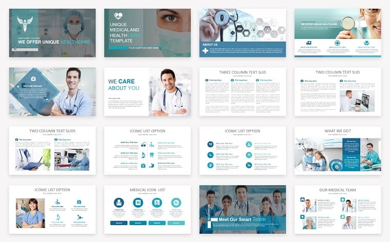 Medical & Healthcare Presentation PowerPoint Template