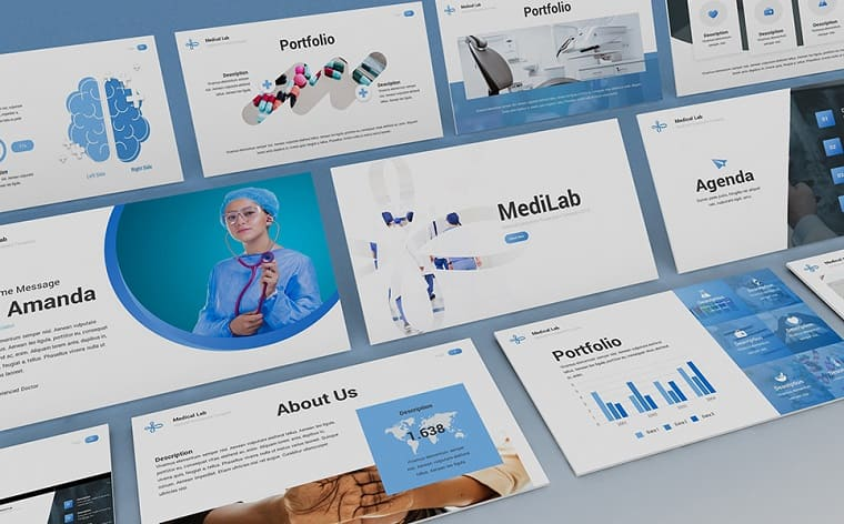 MediLab - Medical PowerPoint Template