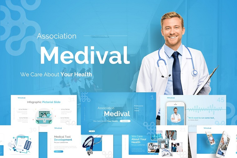 Medival Health Presentation Fully Animated PowerPoint Template