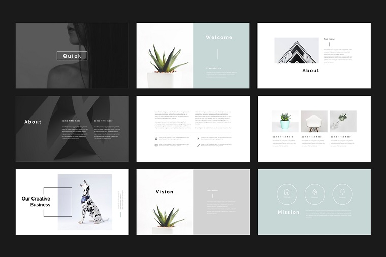 Multipurpose PowerPoint Template that Covers any Business Needs