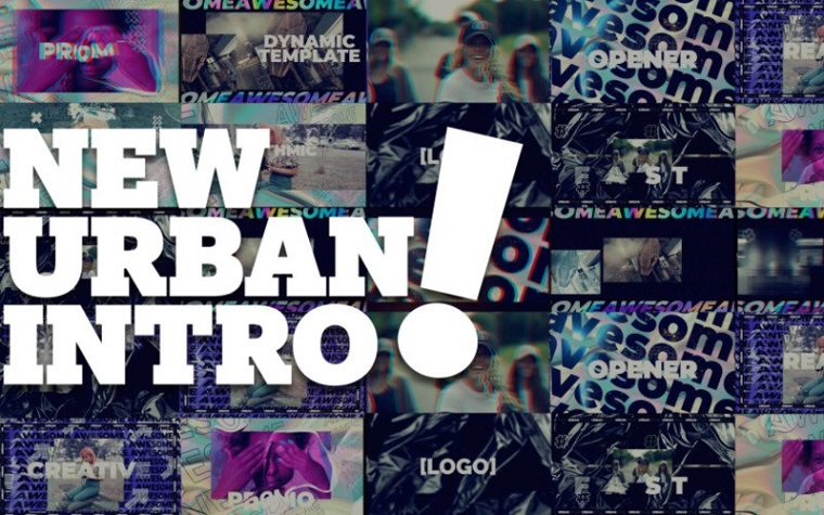 New Urban Style Intro/Opener After Effects Template.