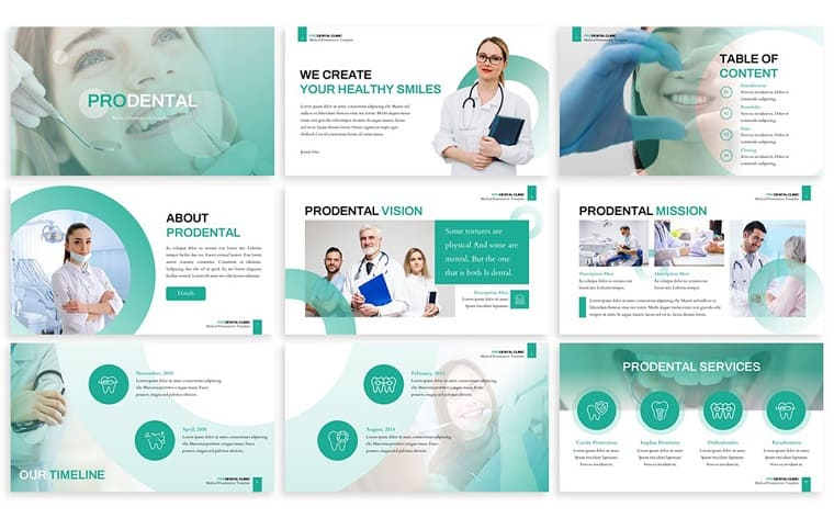 Prodental - Dentist PowerPoint Template