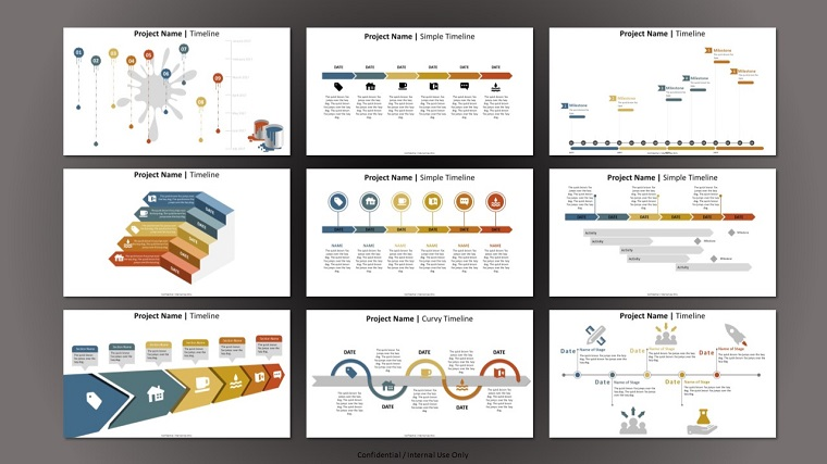Project Timelines and Roadmaps PowerPoint Template