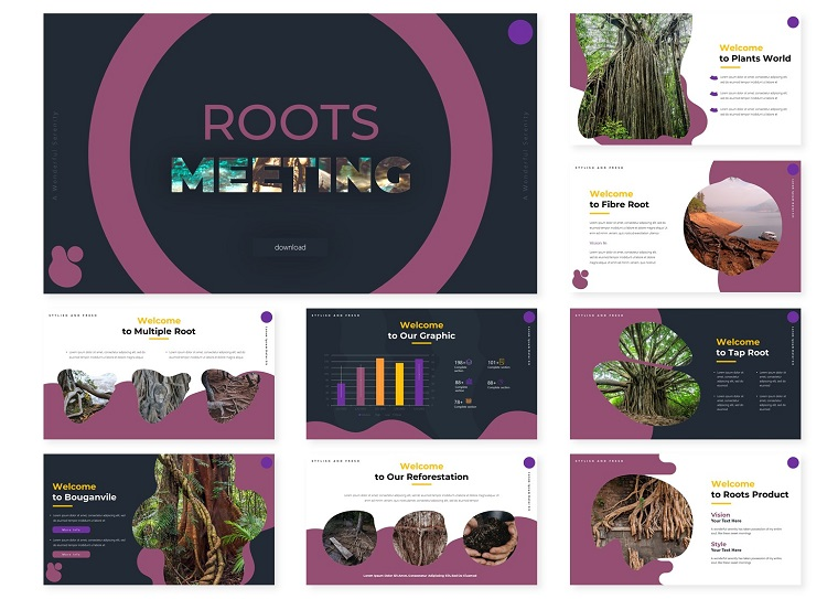 The Roots | PowerPoint Template