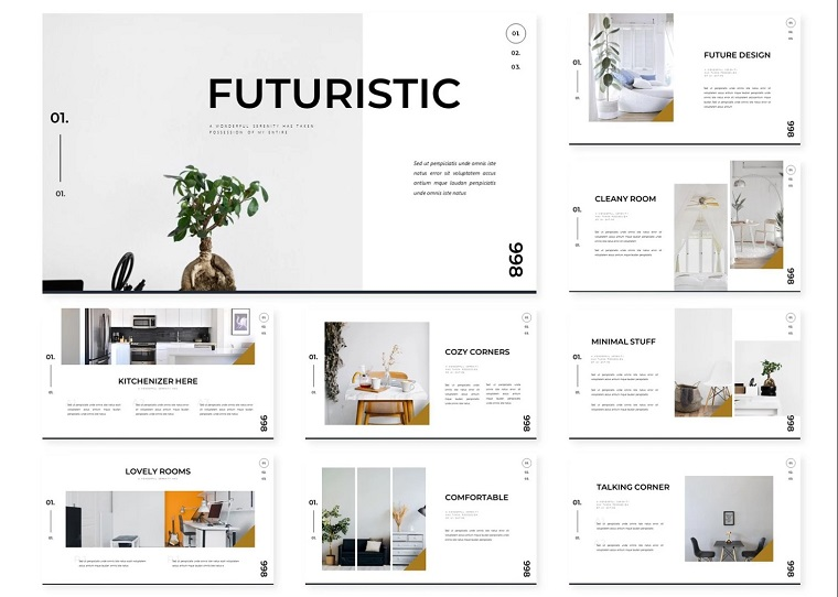 Futuristic | PowerPoint Template