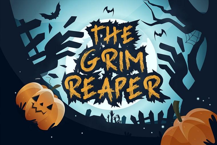 Grim Reaper - Horror Font