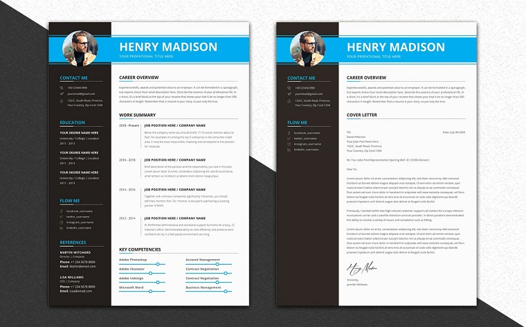 Professional Modern Executive Assistant Resume Template