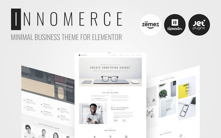 Innomerce - Business WordPress Theme - Business Ideas for Women