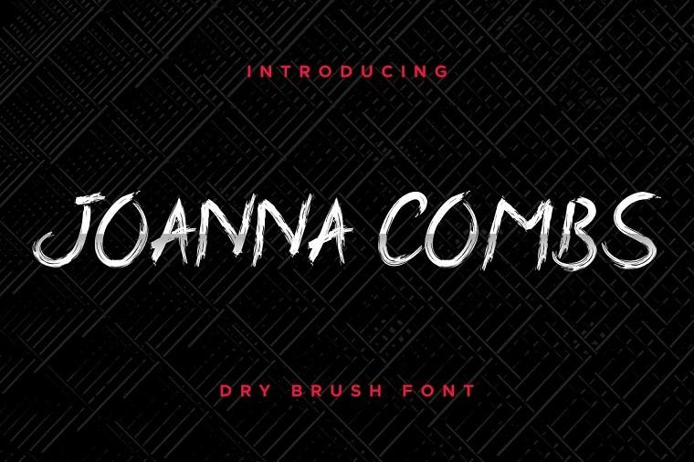 Joanna Combs Font