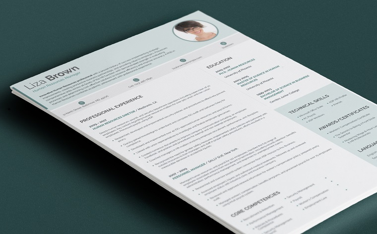 Liza Brown - Office Manager Manager Resume Template