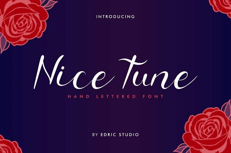 Nice Tune Font