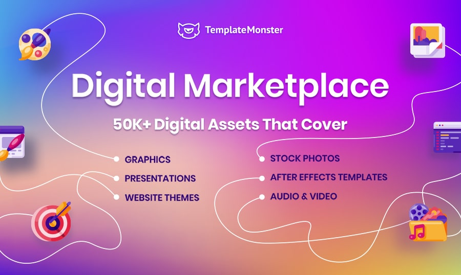 product types on templatemonster