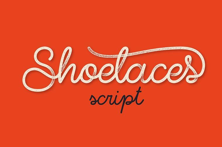Shoelaces Font.