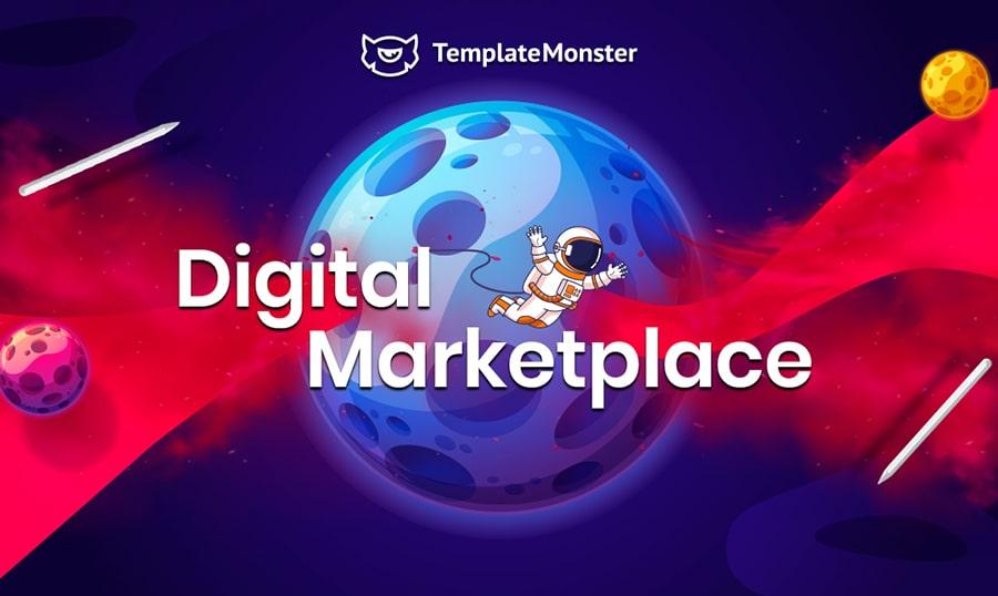 templatemonster digital marketplace main image