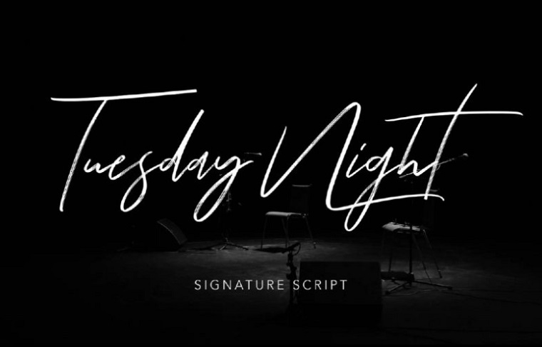 Tuesday Night - Free Signature Script