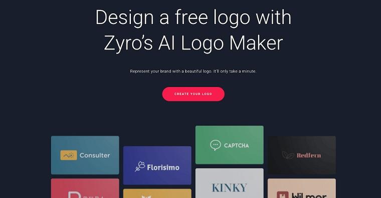 Zyro Logo Maker.