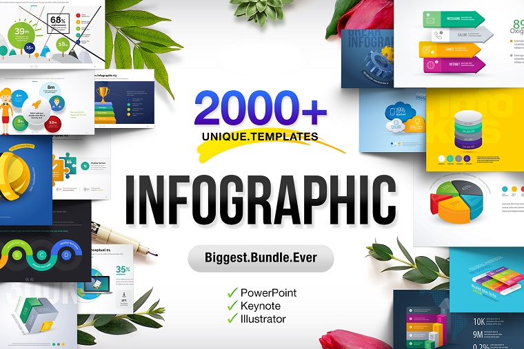 Infographics Presentations Bundle