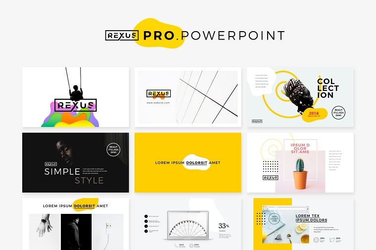 RexusPro Minimal PowerPoint