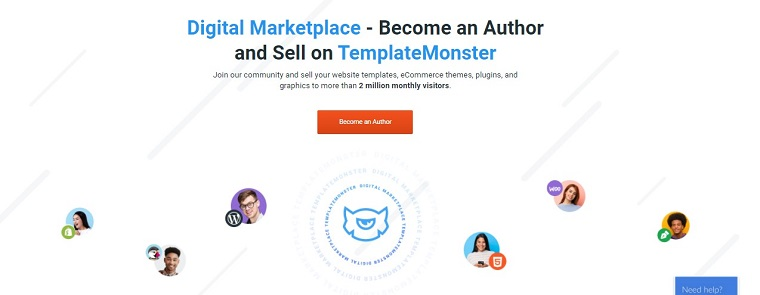 Start Getting Money with TemplateMonster.
