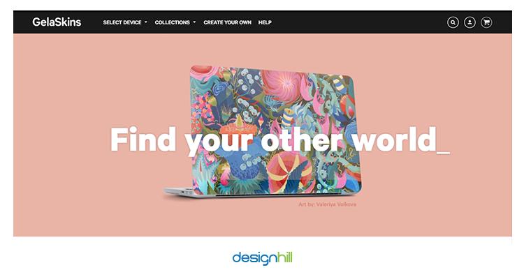Gela Skins sell your design online