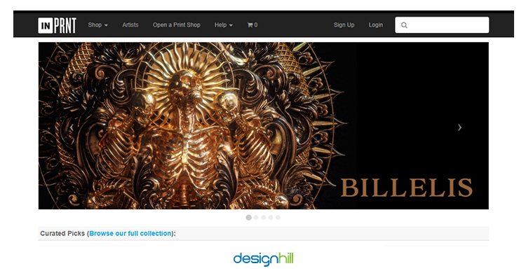 INPRNT sell your design online