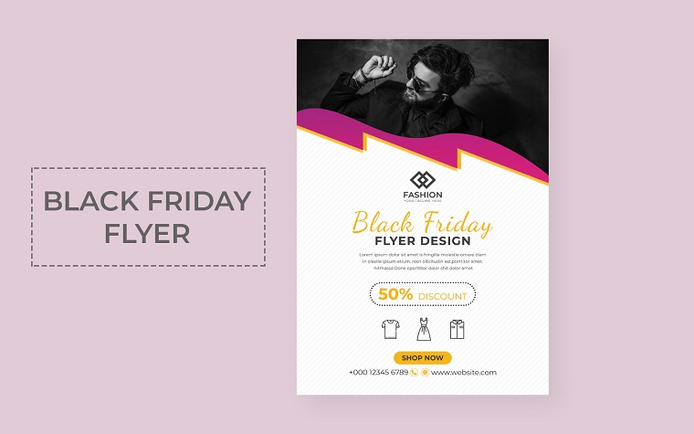 Black Friday Flyer Corporate Identity Template