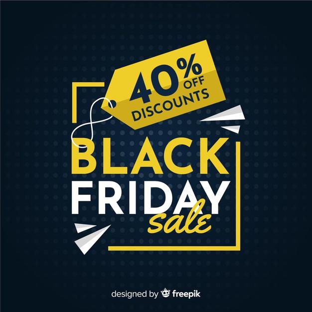 Black Friday free vector