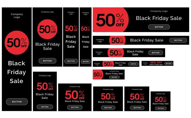 Black Friday Promo Banners Bundle