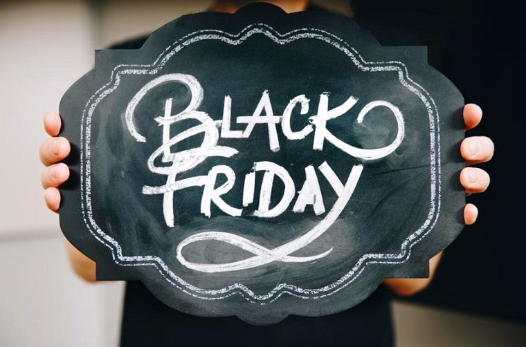 Photo of the Black Friday sign