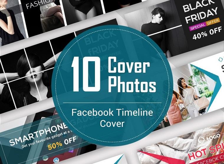10 Facebook Timeline Cover Bundle Social Media